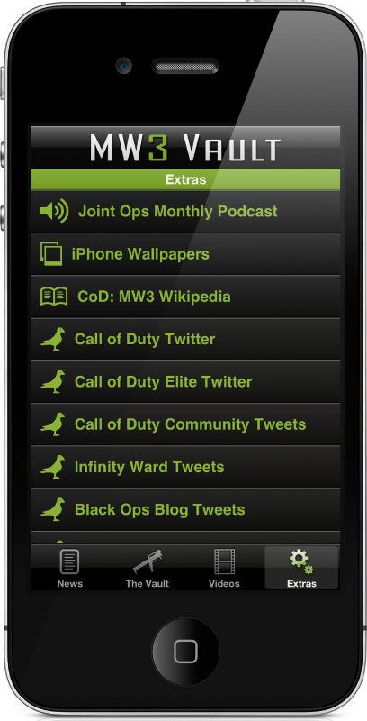 MW3 Vault Call Of Duty Modern Warfare 3 App