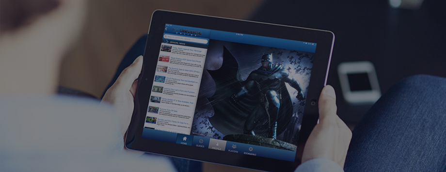 DC Online Universe app developed by AppBurst